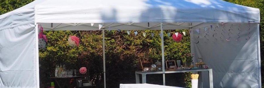 Partyzelt für Gartenfest in München mieten