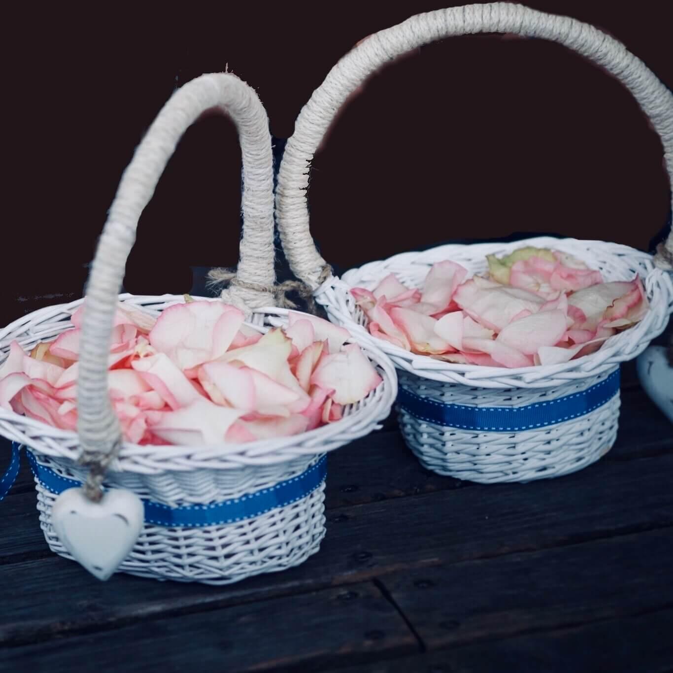 Blumenkinder maritimer Korb für Streublumen