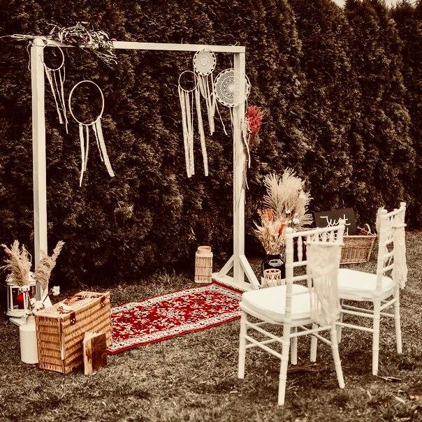 Boho Traumfänger für Hochzeit leihen