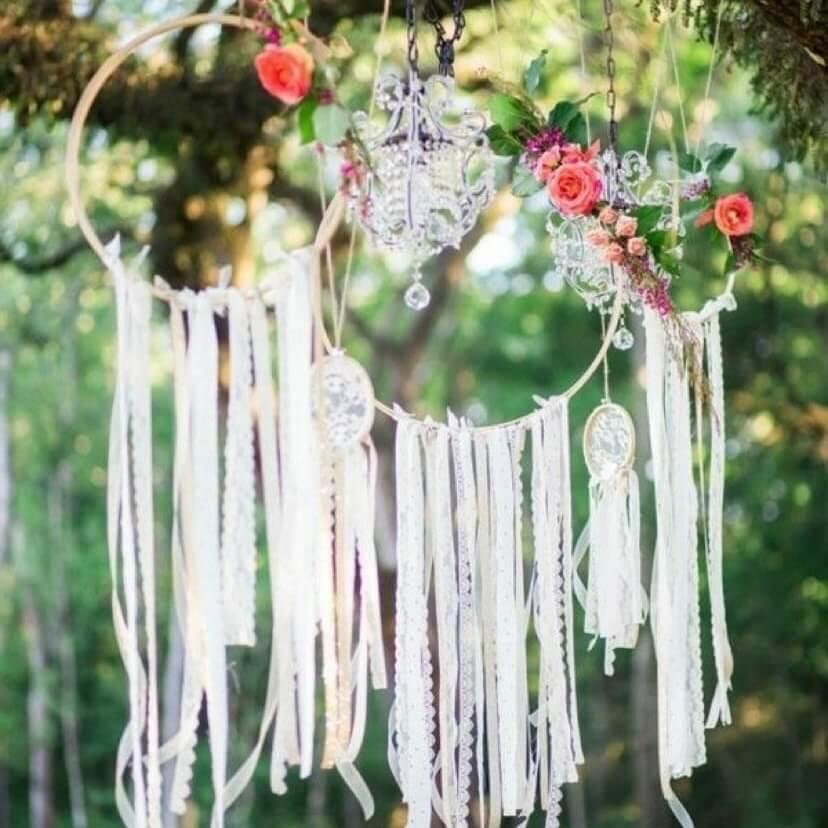 SÜSSHOLZ Traumfänger für Hochzeit
